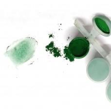 Пигмент зеленый сухой, порошок 5 мл
