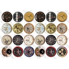 Часы, d=46 мм, не деленные