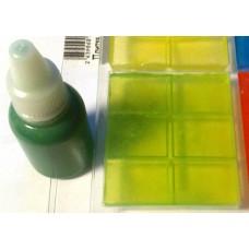 Colorant-Dream, классический зеленый пигментный краситель для мыла жидкий