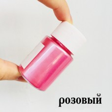 Перламутр розовый, сухой, 10 г
