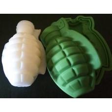 Граната XL, форма силиконовая 3D