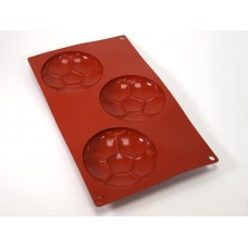 Мячи футбольные, форма силиконовая