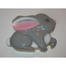 Заяц, форма для мыла