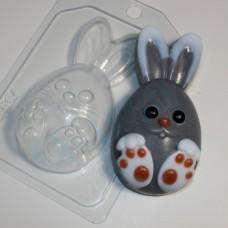 Кролик мультяшный, форма для мыла