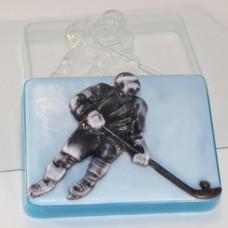 Хоккеист, форма для мыла