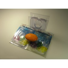 Цветочное сердце сторона А, форма для мыла 3D
