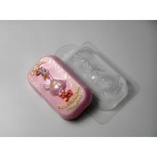 Гламурная кура, форма для мыла