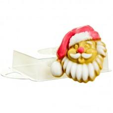 Веселый Санта, форма для мыла