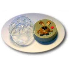 Веселый кролик, форма для мыла