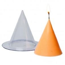 Конус малый, форма для свечей