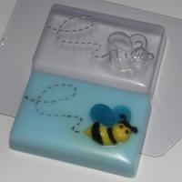Пчела, форма для мыла