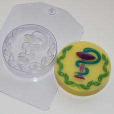 Мед змея, форма для мыла