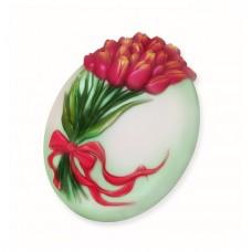 Букет тюльпанов, форма для мыла
