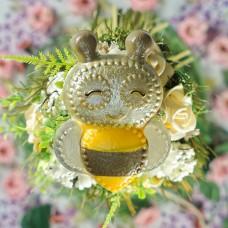Пчёлка, форма для мыла
