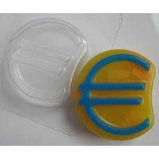 Евро, форма для мыла