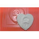 075 - Сердце замок, форма для мыла