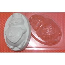 088 - Мартовский кот, форма для мыла