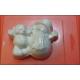 211 - Мишка и Снеговик, форма для мыла