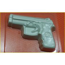 273 - Пистолет, форма для мыла