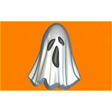 355 - Привидение, форма для мыла