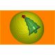 366 - Шар ёлка, форма для мыла