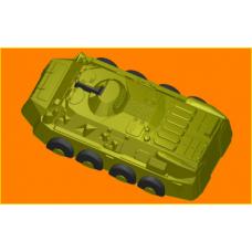 395 - БТР, форма для мыла
