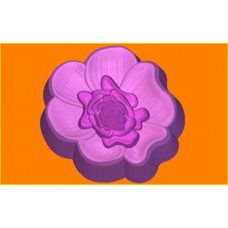 403 - Цветок 403, форма для мыла