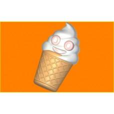 410 - Весёлое мороженко, форма для мыла