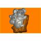424 - Коалы, форма для мыла
