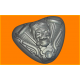 434 - Мото череп, форма для мыла