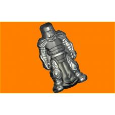 451 - Рыцарь, форма для мыла