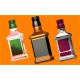 511 - Бутылка под картинку, форма для мыла