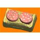 527 - Бутерброд с колбасой, форма для мыла