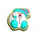 611 - Снежок, форма для мыла