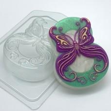 Восьмерка с бабочкой, форма для мыла