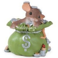 Мышка денежная, форма для мыла силиконовая