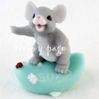 Мышка на мыле, форма для мыла силиконовая