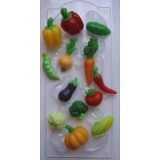 Овощное ассорти, форма для мыла