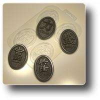 Медальоны желаний №1, форма для мыла