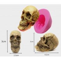 Череп 3Д, форма силиконовая