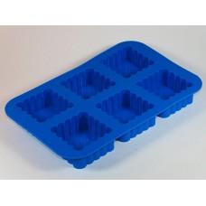 Ажурные квадраты, форма силиконовая