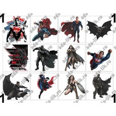Бэтмен и Супермен, супергерои, картинки для мыла