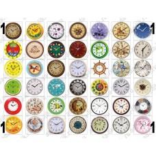 Для формы Наручные часы (d=33mm), картинки для мыла