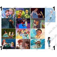 Принцессы, Феи, картинки для мыла