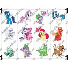 My Little Pony, картинки для мыла