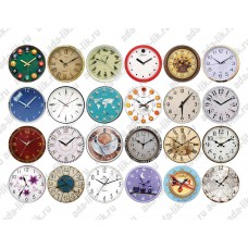 Для формы Наручные часы (d=42mm), картинки для мыла