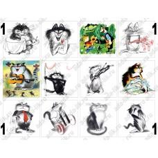 Иллюстрации Чижикова, картинки для мыла