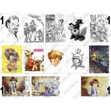 Иллюстрации Мигунова, картинки для мыла