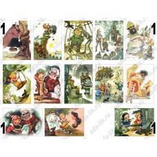 Иллюстрации Владимирского, картинки для мыла