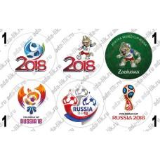 Чемпионат мира по футболу 2018, картинки для мыла